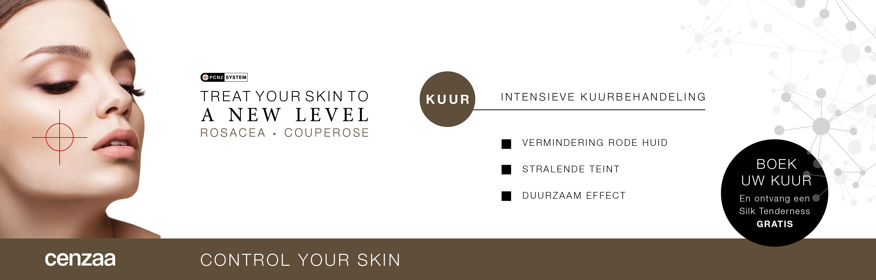Control Your Skin Website Kuur
